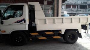 Hyundai hd65 ben 2,5 tấn  hỗ trợ trả góp 80%