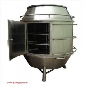 Lò quay vịt bằng than, lò quay vịt giá rẻ, thịt chín đều và ngon, hàng có sẵn