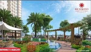 Chính thức mở bán căn hộ Richmond City, Giá chỉ từ 23,5 triệu/m2