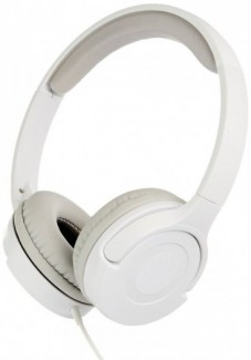 Tai Nghe Chụp Đầu Cao Cấp AmazonBasics Lightweight On-Ear Headphones - White
