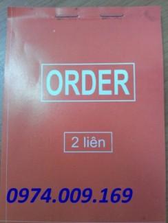 Bán phiếu order