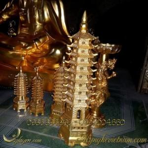 Các loại tháp văn xương bằng đồng phong thủy.