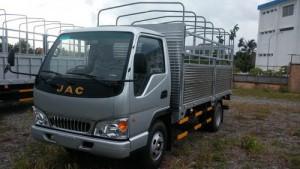 Bán xe tải jac 2.4 tấn HFC1030k4, xe tải jac 2t4 thùng dài 3m7 bán xe trả góp lãi suất thấp