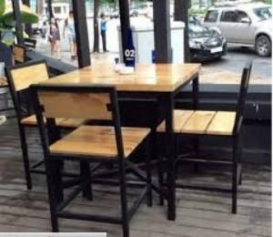 Ghế gỗ quán ăn nhà hàng thanh lí giá rẻ