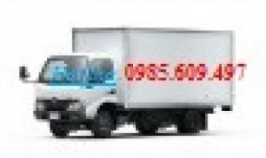 Xe tải Hino XZU650 Thùng Kín, 1.9T Giá  Tốt
