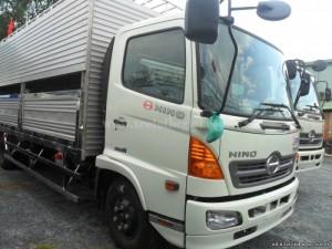Bán xe chở Gà lồng Hino FC thùng chở gà 5 tấn, Xe và thùng có sẵn, giao ngay