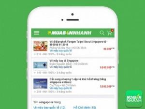 Vé Máy bay đi Singapore giá tốt tại Mua Bán Nhanh