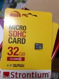 Thẻ nhớ Strontium Micro SD 32GB