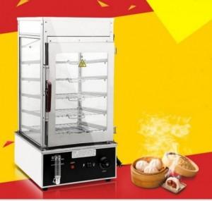 Chuyên tủ hấp bánh bao, lò hấp bánh bao 5 tầng giá rẻ