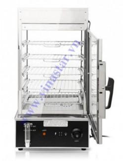 Tủ hấp bánh bao 5 tầng cho nhà hàng, nồi hấp bánh bao điện, tủ hấp bánh bao giá rẻ