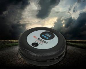Bơm lốp mini điện tự ngắt cho xe hơi TBG-09