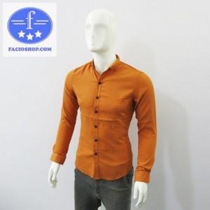 Áo sơmi tay dài nam thời trang Facioshop
