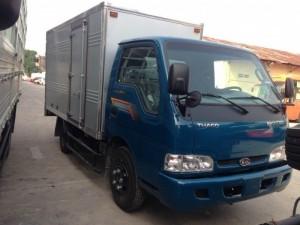 THACO K165S thùng kín có tải trọng 2,3 tấn