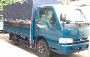 THACO K165S thùng mui bạt có tải trọng 2,4 tấn