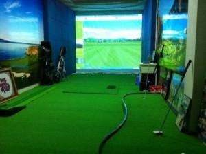 Thi công phòng tập golf mini