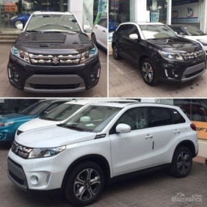 Suzuki Vitara 2016, nhập khẩu giá cạnh tranh tại Quảng Ninh