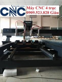 Máy CNC 4 trục đục tranh đục tượng nhập khẩu hiệu Singkey