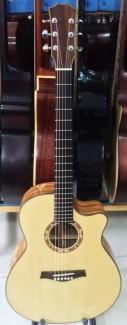 Guitar Gỗ Hồng Đào Kỷ Cao Cấp Giá Siêu Rẻ+ Combo - tặng bao da