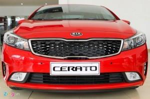 Cần bán KIA CERATO mẫu xe sang trọng, chương trình ưu đãi tháng 10 33 triệu