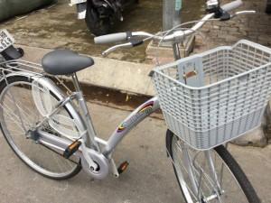 Xe đạp mới