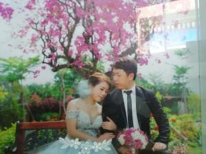 Tranh 3D sáng tạo cho ngày cưới của bạn thêm...