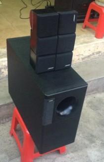 Loa Bose acoustimas 7, 3 cube đôi , 200w