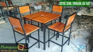 Bàn ghế quán ăn quán nhậu cafe giá cực rẻ