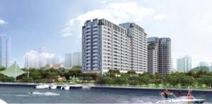 Căn hộ resort ngay sông Sài Gòn, theo phong...
