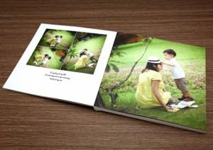 Photobook - Kỷ niệm của bạn - Size 20x20 cm, loại 12 tờ