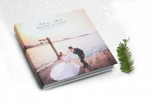 Ghi dấu cuộc đời bằng Photobook - Size 25x25 cm, loại 24 tờ