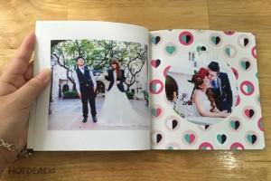 Ghi dấu cuộc đời bằng Photobook - Size 25x25 cm, loại 40 tờ