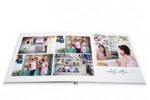 Nhận đặt làm Photobook - Size 30x45 cm, loại 20 tờ