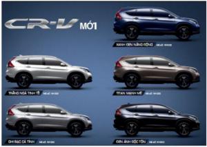 Honda Oto CR-V