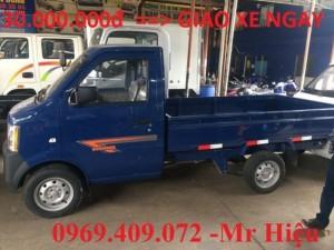 Bán xe tải DongBen 870kg , thùng lửng , có hỗ trợ trả góp và đóng thùng