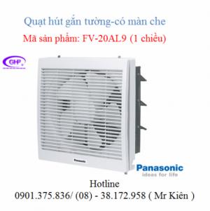 Quạt thông gió gắn tường 1 chiều Panasonic...