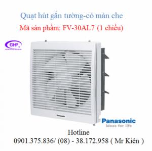 Quạt thông gió gắn tường Panasonic, chính hãng giá tốt