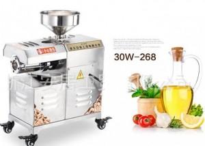 Máy ép dầu thực vật 30W-268, máy ép dầu gia đình, máy ép dầu công nghiệp giá rẻ