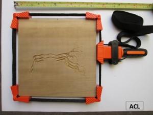 kẹp góc đa giác dây nylon 4m làm khung tranh, hộp gỗ; dụng cụ làm mộc, tool làm mộc, tool làm gỗ, dụng cụ làm đồ handmade bằng gỗ,