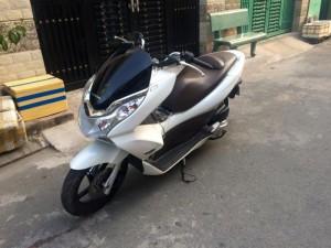 Honda PCX nhập thùng Thái Lan,màu trắng,như xe mới