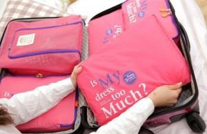 Set 3 túi đựng đồ du lịch FUNNYMADE Hàn quốc