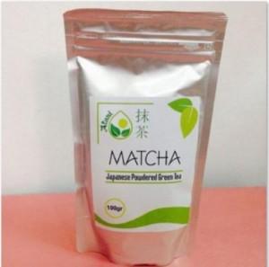 Bột trà xanh Matcha vụ thu 100g