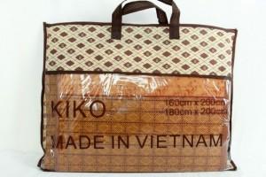 Chiếu mây KIKO Việt Nam 1,6m tặng kèm 2 vỏ gối