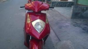 Xe dylan 150cc Hq ld nhật màu đỏ đô