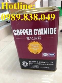 Copper (I) Cyanide - Đồng xyanua - CuCN - シアン化銅(I) - 시안화 구리 (I) - 氰化亚铜 Hàn Quốc