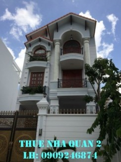 Cho thuê biệt thự An Phú, Quận 2, nhà mới...