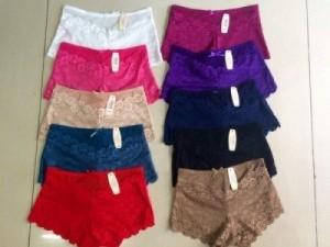 Quần váy ren Victoria, chất ren cao cấp mềm mịn - MSN383005
