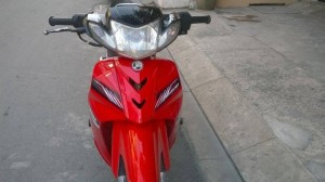 Xe sirius hq màu đỏ đen bánh mâm