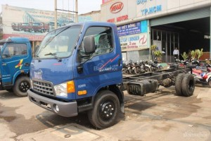 Xe Tải Hd800 8 Tấn  Hyundai Hd800 8 Tấn Động Cơ Hyundai-Hyundai 8000kg Thùng Kín-Bạc