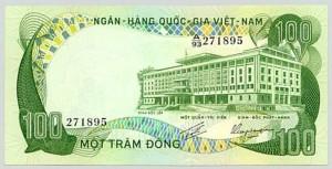 100 đồng con trâu năm 1972