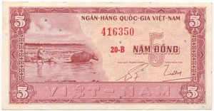 5 Dong 1955 lần thứ nhất